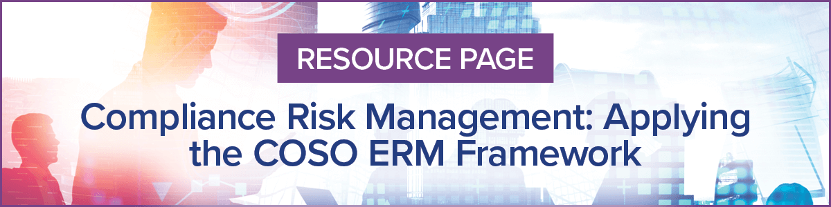 Resource Page for SCCE & HCCA COSO ERM Framework