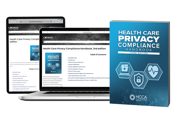 Health Care Privacy Handbook - Soft-cover book and online access