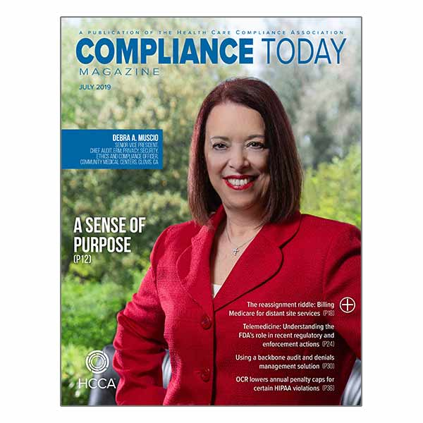 Compliance Today Cover July thumbnail