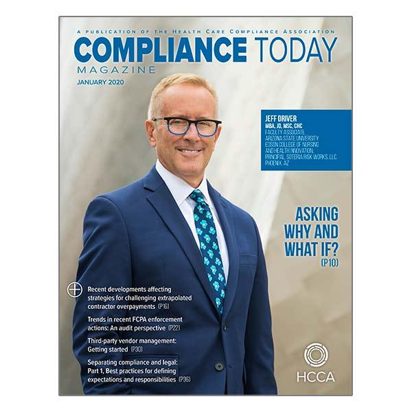 Compliance Today Magazine
